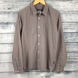 Patagonia Plaid Button Down Dress Shirt